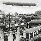 Hamburg, Germany 1900 by Remo Kurka