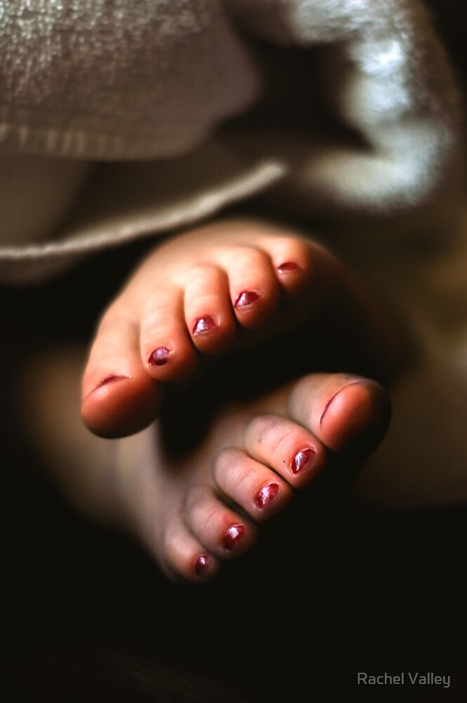 Little Painted Toes by Rachel Valley