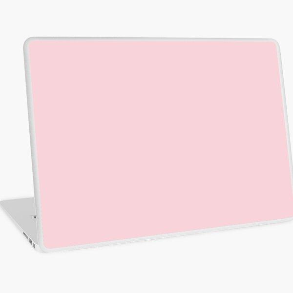 fashion romantic cotton candy pastel blush pink Laptop Skin