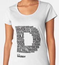 D for Dad Women's Premium T-Shirt