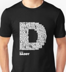 D is for Dad Unisex T-Shirt
