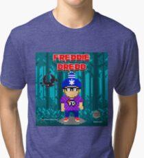 Freddie Dredd - Deep In the Forest Pixels Tri-blend T-Shirt