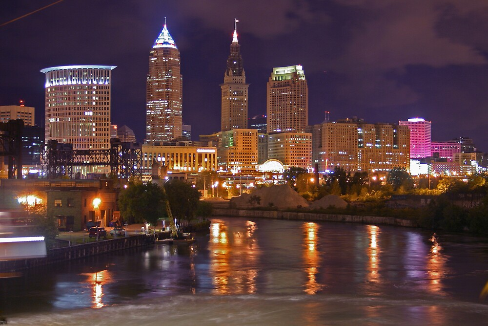 Cleveland Lights by stickware
