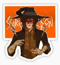 Scarecrow Sticker