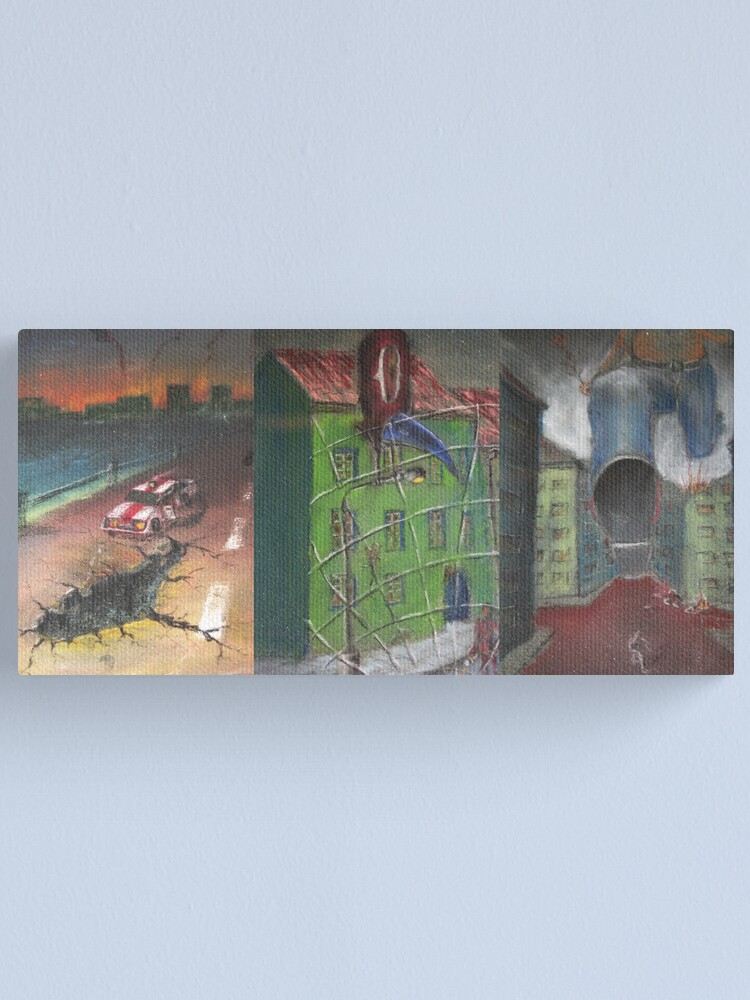 Alternate view of Retro Canvas Print