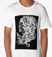 Head Dress Long T-Shirt