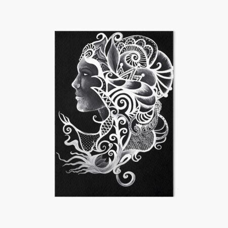 Head Dress Art Board Print