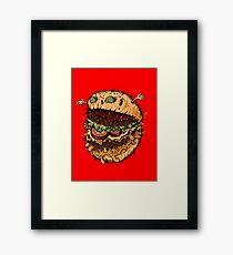Monster Burger Framed Print