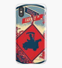 Rough - Fairway - Golf Cart iPhone Case/Skin