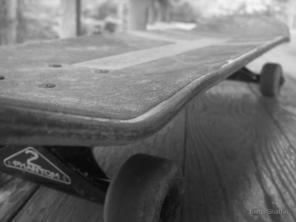 Skateboard by Justin Shaffer
