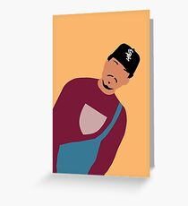 Chance The Rapper Greeting Card