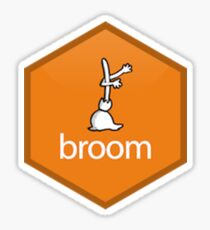 broom Sticker