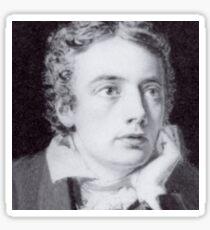 John Keats Sticker