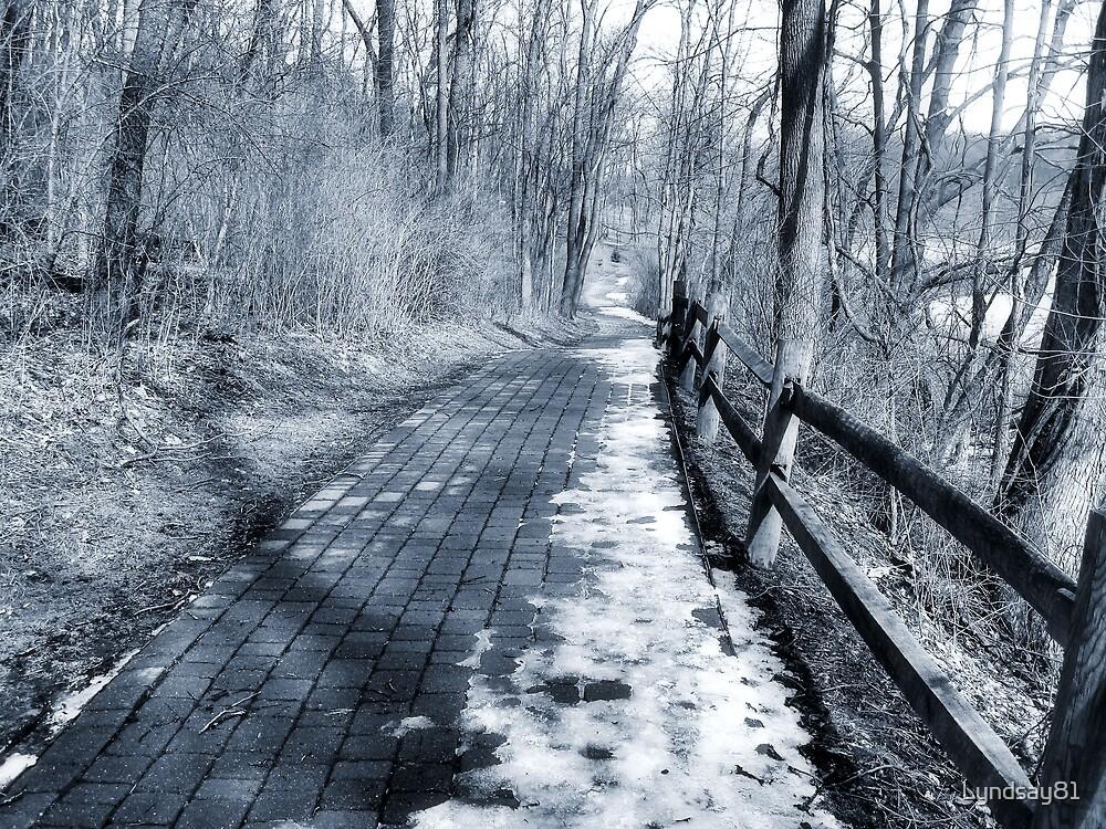 Deserted Walkway by Lyndsay81