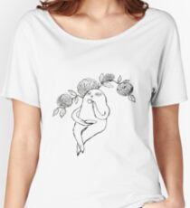 A Sloth's Afternoon Tea Women's Relaxed Fit T-Shirt