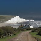 Cottages & The Seven Sisters by wiggyofipswich