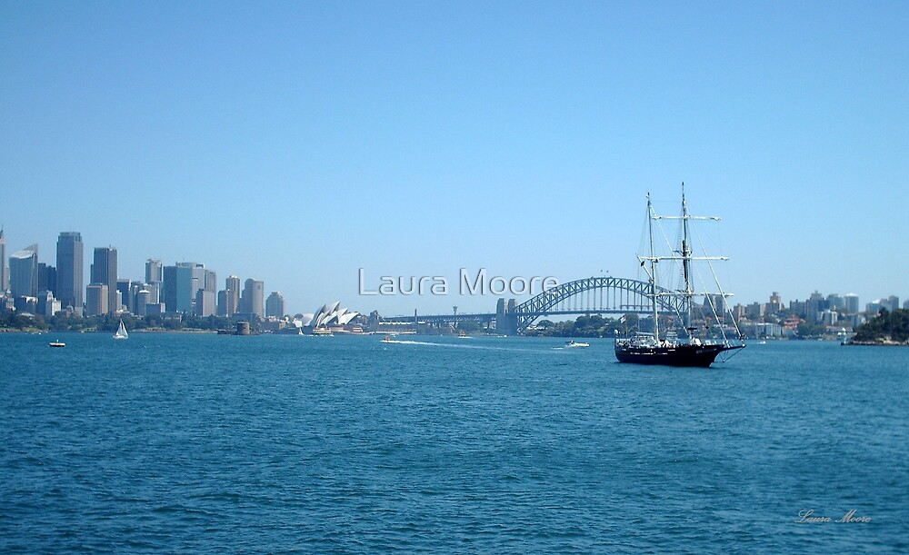 Sydney Harbour by Laura Moore