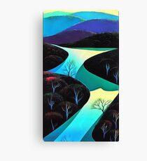 ocean rivers Canvas Print