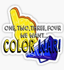 Color War Sticker