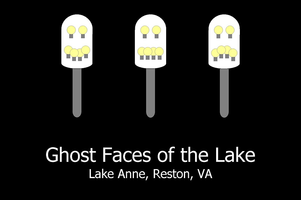 Ghost Faces of the Lake by whatinspiresme