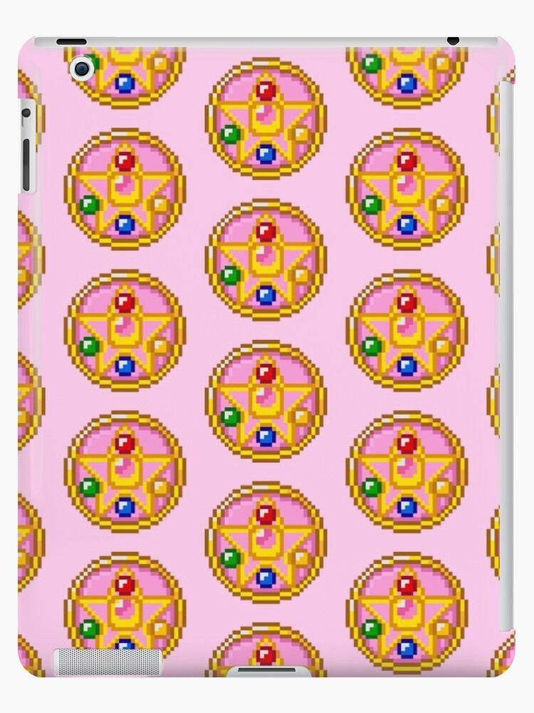 Sailor Moon Brooch Pattern Ipad Case Skin By Samaran Redbubble It was originally serialized in nakayoshi from 1991 to 1997. redbubble