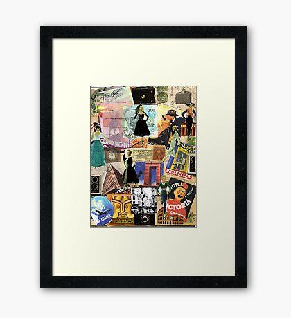 Cosmopolitan Woman Framed Print