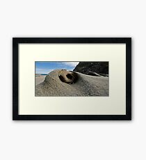 A rock for some, a home for others Framed Print