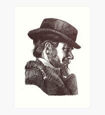 A Portrait of a Dangerous Man Art Print