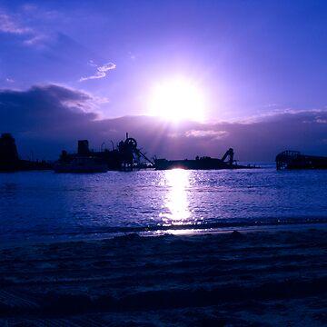 Blue sunset by TabulaRasa