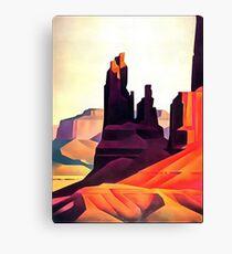 desert hill Canvas Print