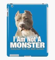 Pit Bull Respect iPad Case/Skin