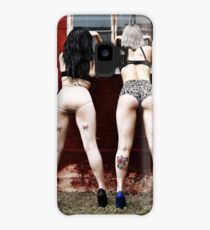 Peeping bums Case/Skin for Samsung Galaxy