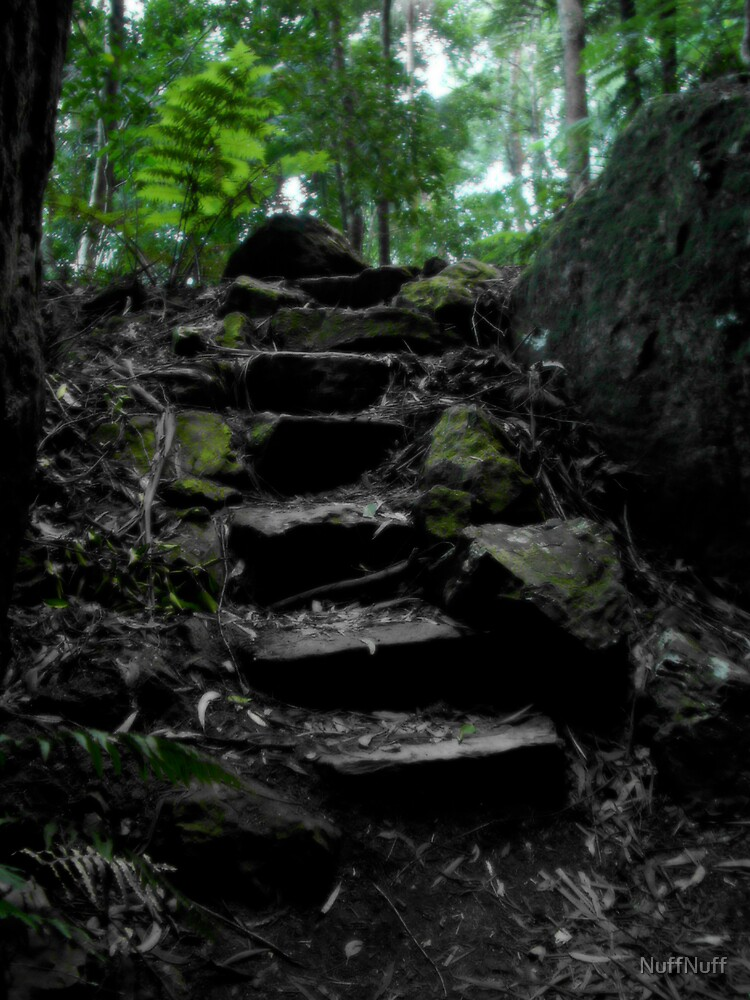 Filtered stairs by NuffNuff