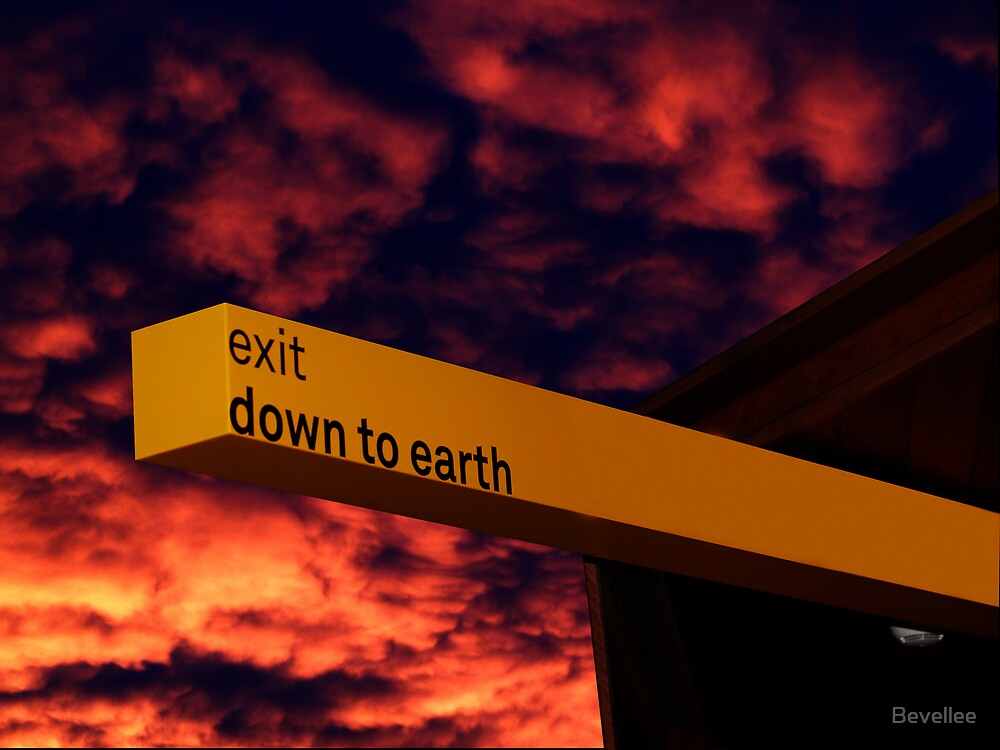 Exit to Earth by Bevellee
