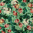 Floral and Marble Texture by Burcu Korkmazyurek