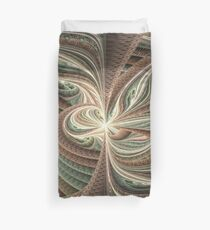 Downward Spiral Into Madness Duvet Cover