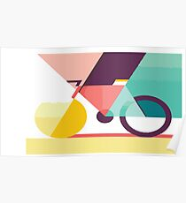LOVE BIKING  Poster