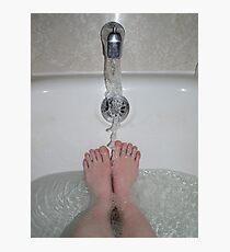 Wet Feet Photographic Print