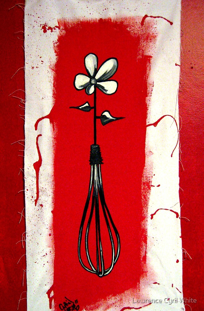 wisk flower by Lawrence Cyril White