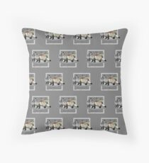 Ferrets (Pattern 2) Throw Pillow