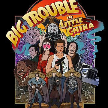 Big Trouble Little camiseta de pgdn