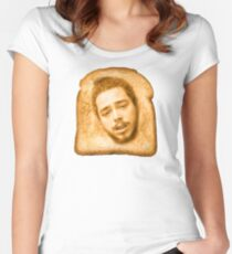 Toast Malone Women's Fitted Scoop T-Shirt