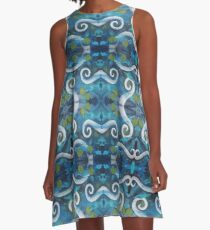 Genesis Fanart The Lamia_Pattern by Frank Grabowski A-Line Dress
