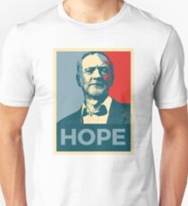 Hope for Jeremy Corbyn  Unisex T-Shirt