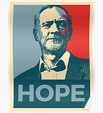 Hope for Jeremy Corbyn  Poster