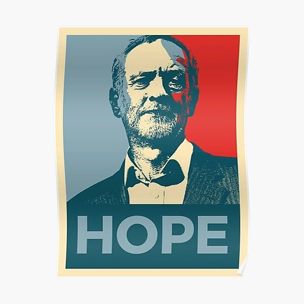 Labour Wall Art Poster All Sizes Keep Calm Vote Jeremy Corbyn 5 Election