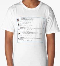 Covfefe Trump Tweet Nerdfight  Long T-Shirt