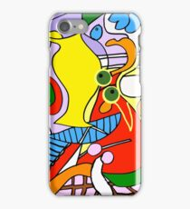 After Picasso Color 1 iPhone Case/Skin