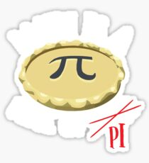 Math Is A Piece Of PI Shirt Sticker