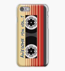 Awesome Mixtape Vol 1, Tape, Music, Retro iPhone Case/Skin